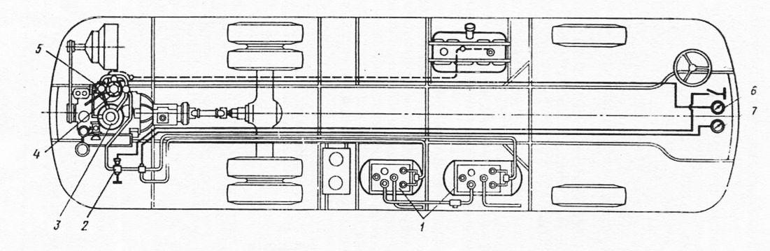 автобуса ЛАЗ-695П