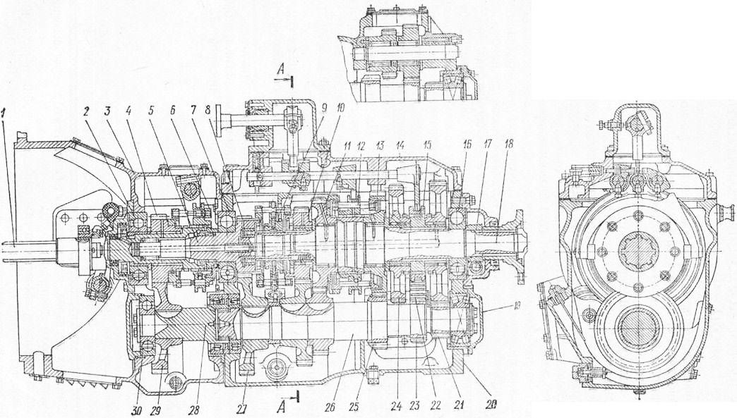 автомобиля КамАЗ-5320: