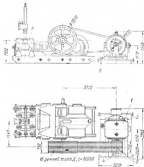 Для привода компрессоров