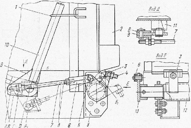 Запорные механизмы для грузовых бортов