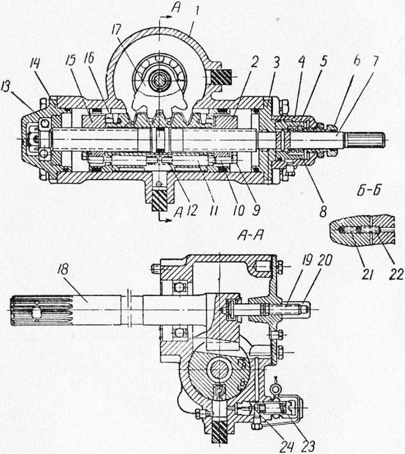 управления трактора Т-40