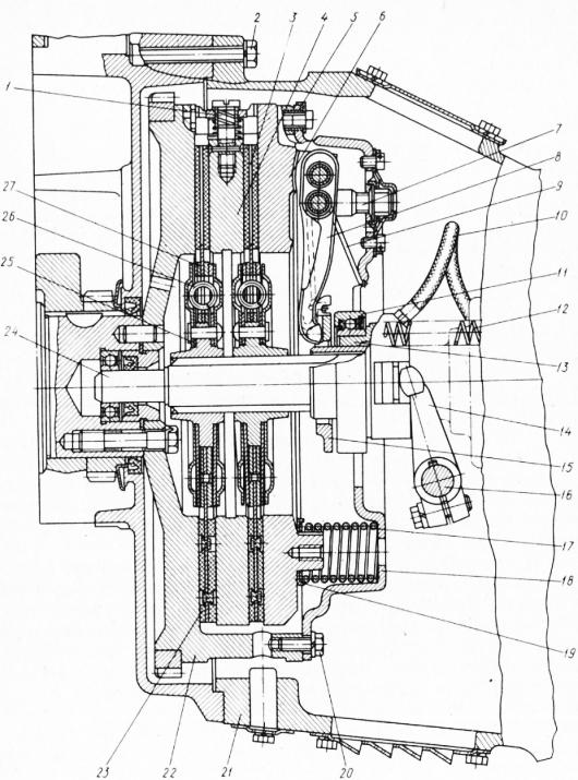 Схема привода сцепления зил 431410 фото 725