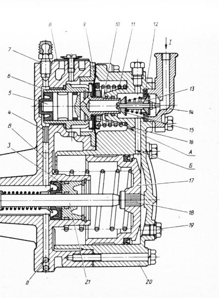 Схема привода сцепления зил 431410 фото 959