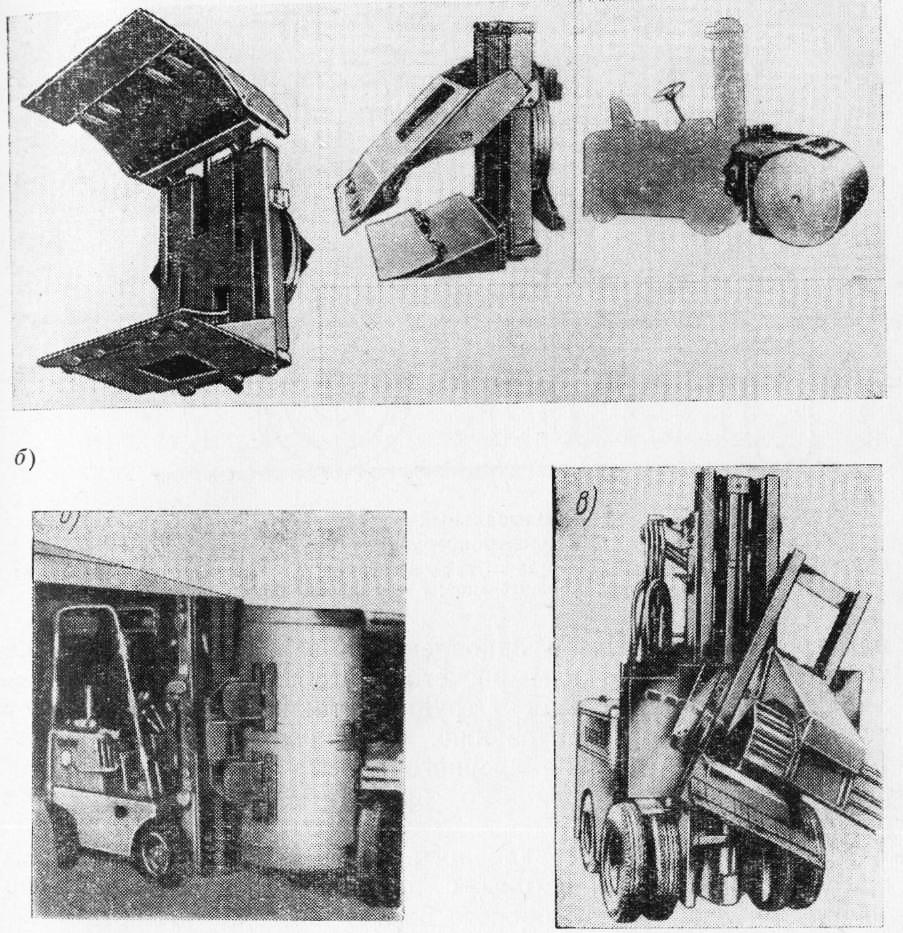 схема движения погрузчика при погрузке грунта