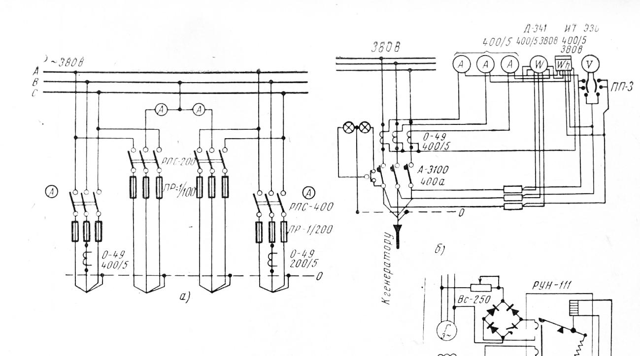 Электрическая схема щита управления вентиляцией фото 430