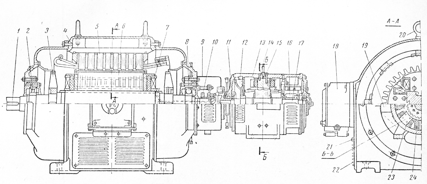 генератор гсф 100 м схема электрическая