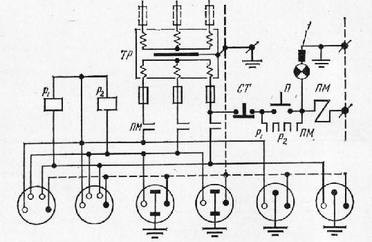 Электрическая схема приставки