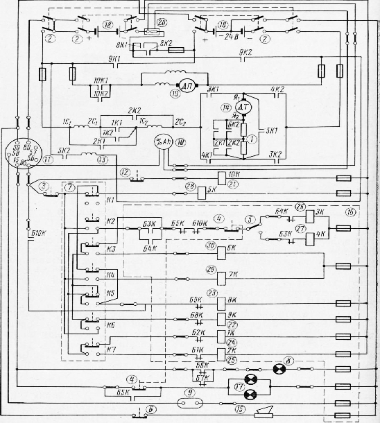 схема электропогрузчика ЕВ