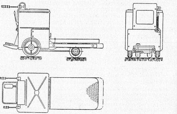 Общий вид электрокара ЭКП-750.