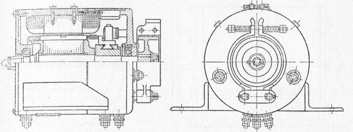 Электрическая схема тягового
