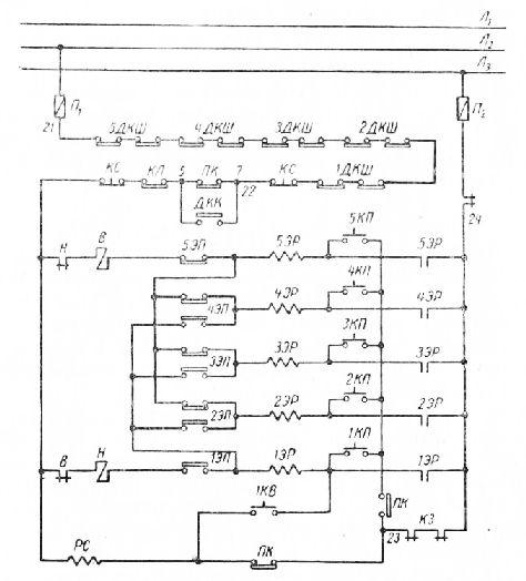 Электрическая схема кнопочного управления лифтом: http://stroy-technics.ru/article/elektricheskaya-skhema-knopochnogo-upravleniya-liftom