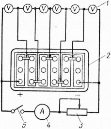 Нагрузочная вилка для аккумулятора лэ 2