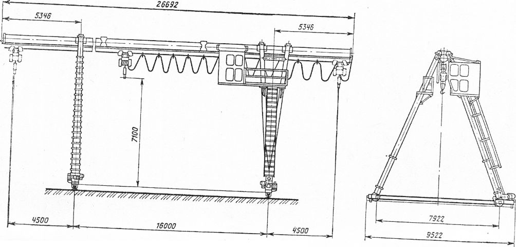 Схема крана ККТ-5