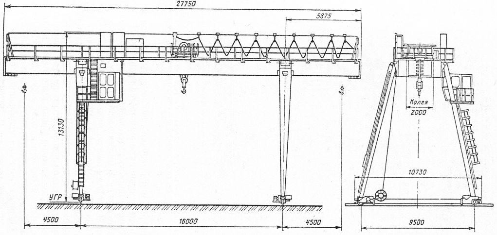 Схема крана КК-12,5