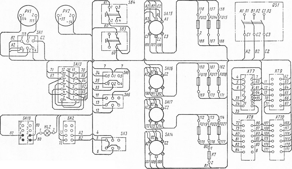 Рис. 77 Схема соединений