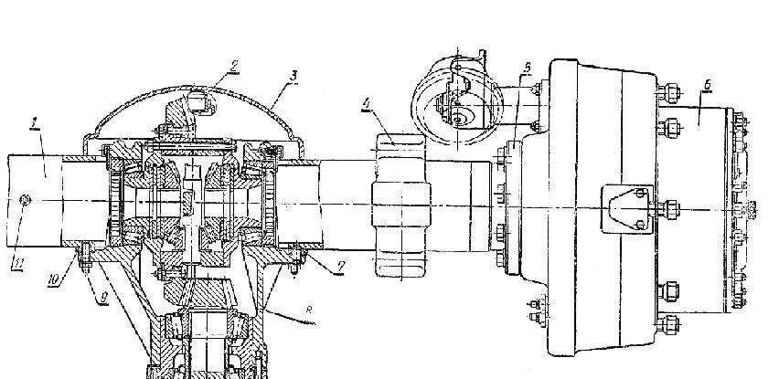 Схема монтажа главного корпуса