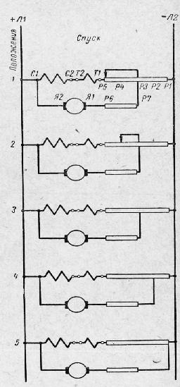 Схема безопасного спуска: С1