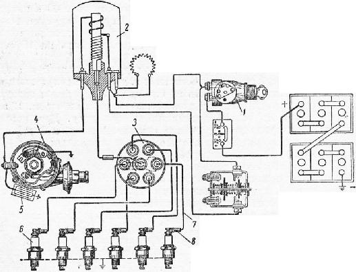 Схема батарейной системы