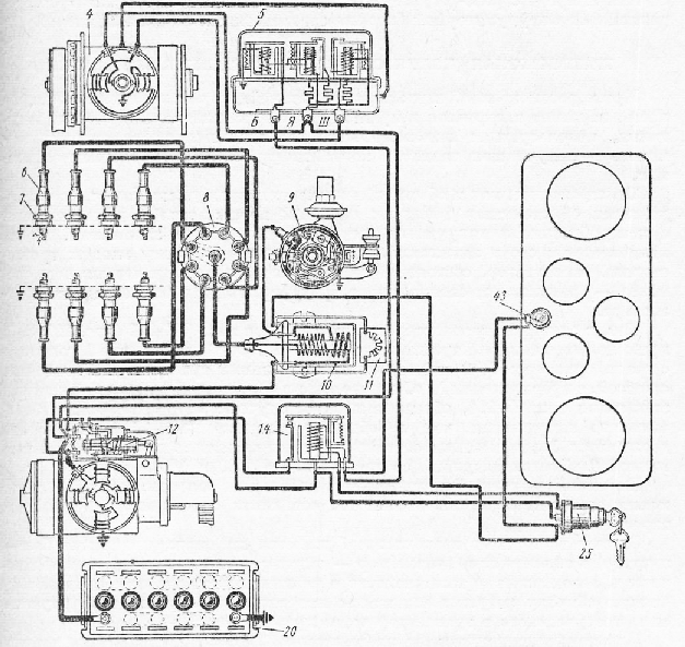 Схема соединения устройств