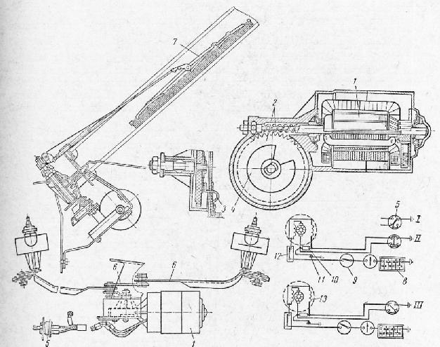 Схема электрического привода