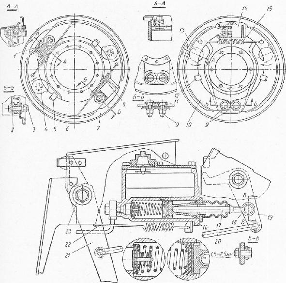 приводом автомобиля ГАЗ-66