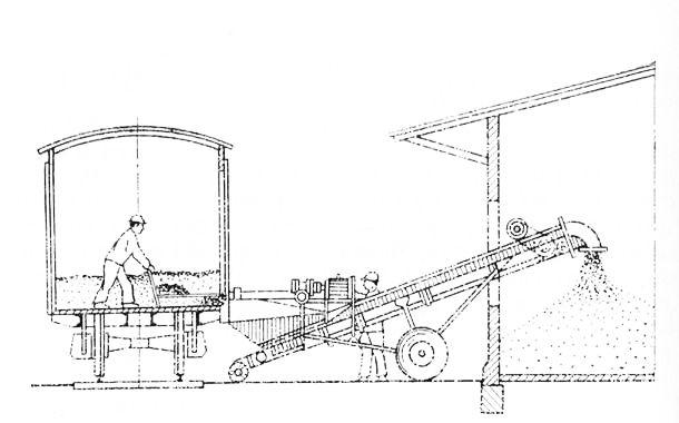 грузов из крытого вагона