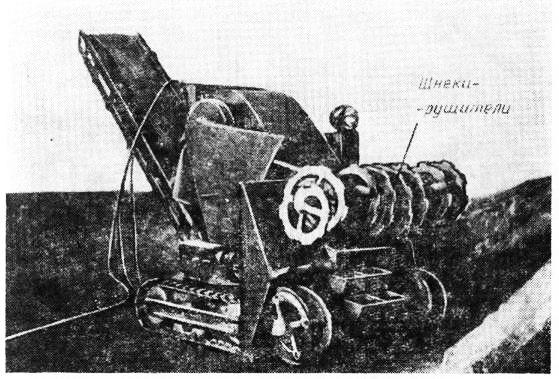 Схема рабсты машины типа МВС-