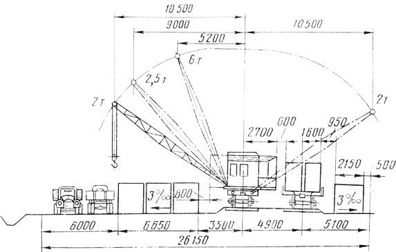 Схема контейнерной площадки