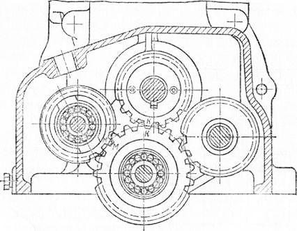 пускового двигателя с