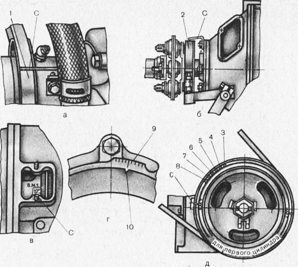 а — д-240 и д-240Л; б — А-41 и