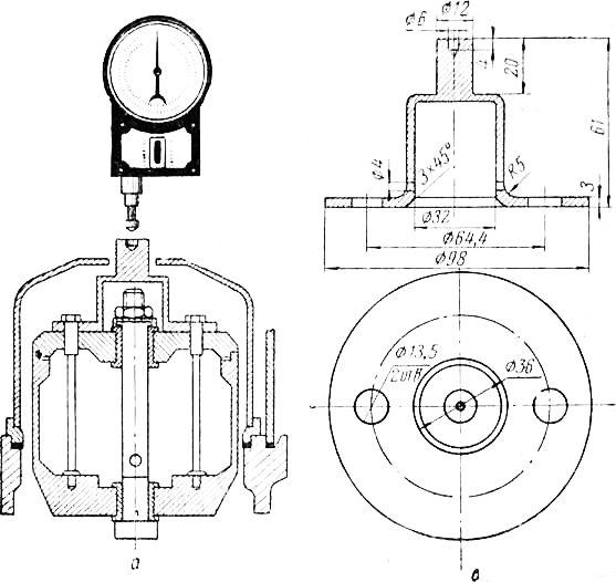 оборотов ротора тахометром