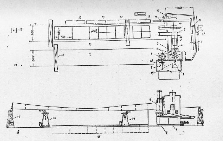 Схема призаводского полигона