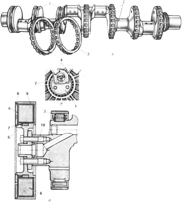 Опорные и коренные шейки распределительный вал камаз схема