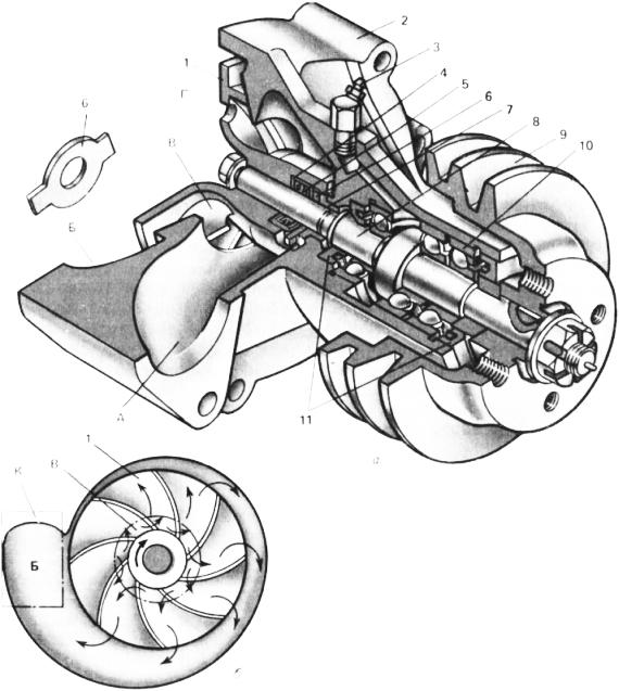 Водяной насос двигателя А-41
