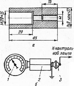 при малейшой нагрузки мотора на ваз 2103 загорается давление масла