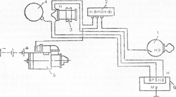 Схема системы зажигании