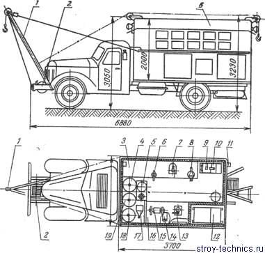 мастерская А-701М и схема