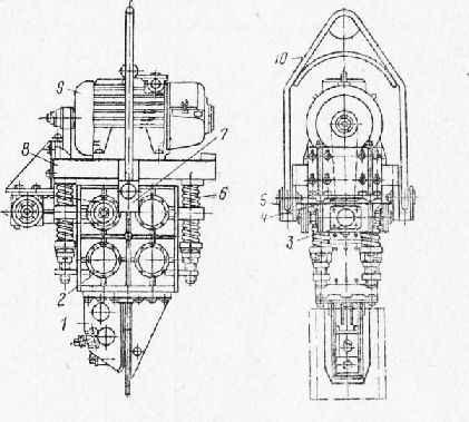 Вибропогружатель ВПП-2А