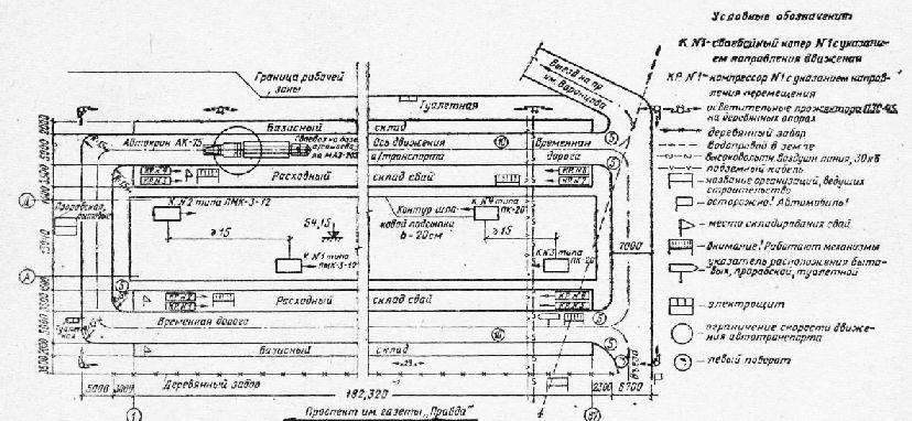 Генплан строительной площадки
