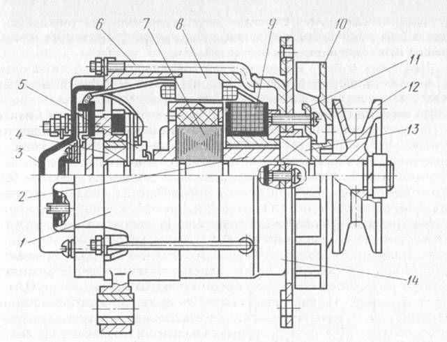 схемы генератора 13.3701.