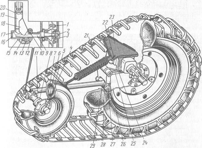 Полугусеничный ход трактора МТЗ-100 и МТЗ-102 | ЖЕЛЕЗНЫЙ.