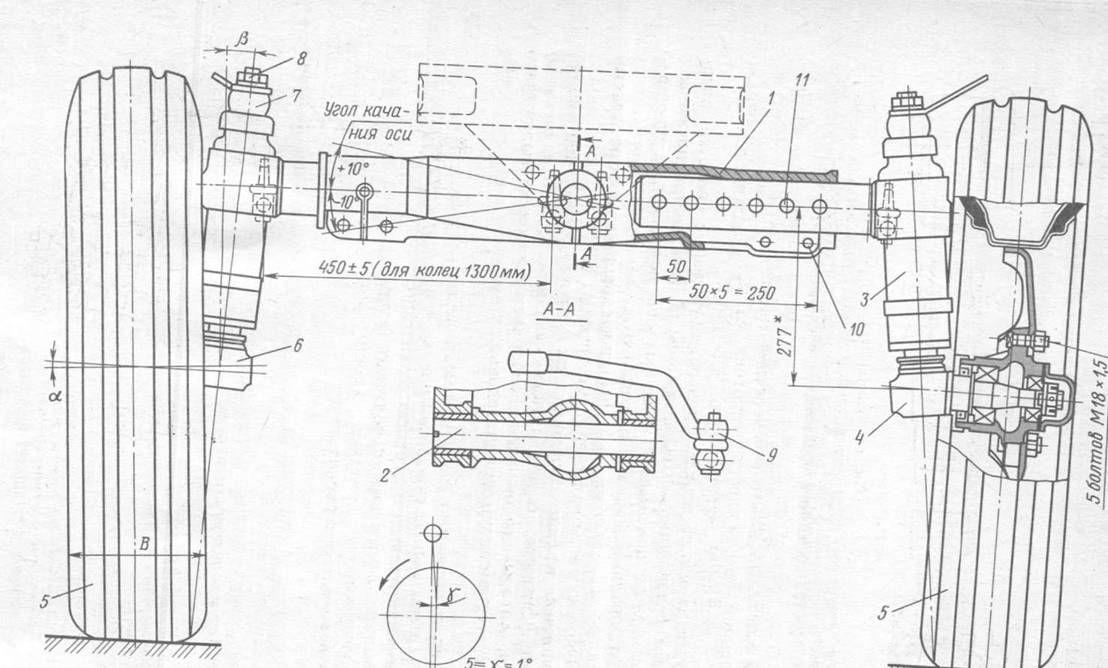 Передняя подвеска двигателя трактора МТЗ-80, МТЗ-82.