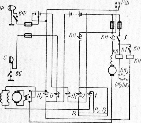 Электросхема погрузчика ЭП-103