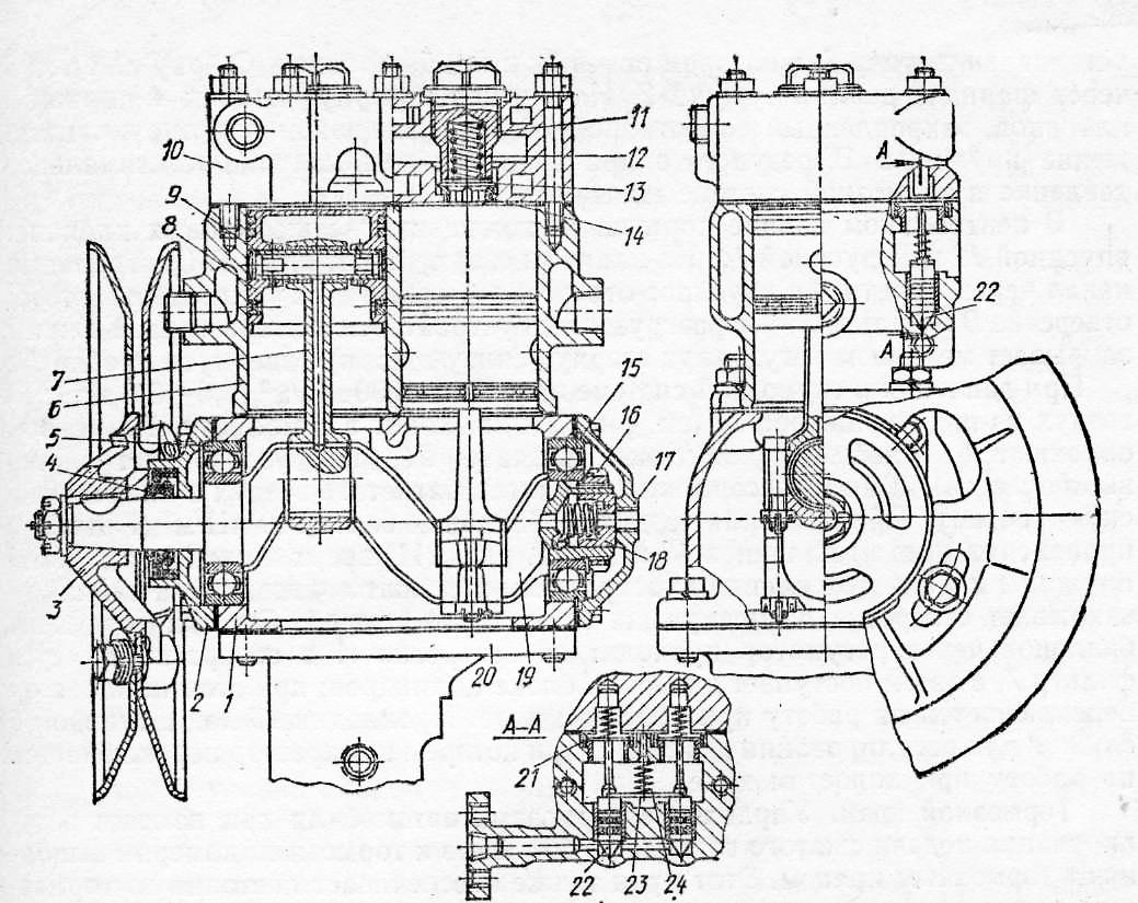 схема подсоеденения воздухораспределитель маз