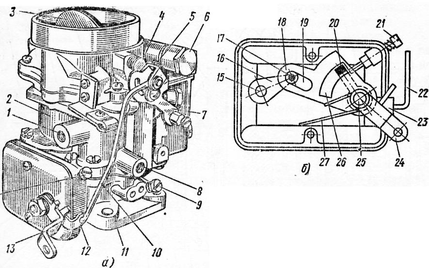 Схема привода дроссельной заслонки фото 958