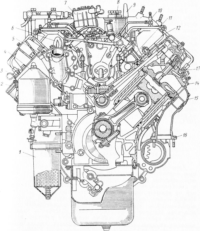 Замена фильтров масла двиг камаз 740 евро