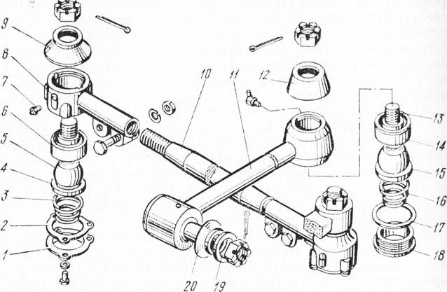 Ремонт рулевой тяги камаз своими руками 15