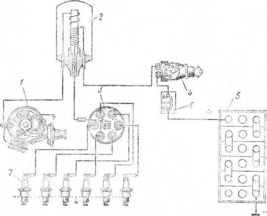 1 — прерыватель тока низкого
