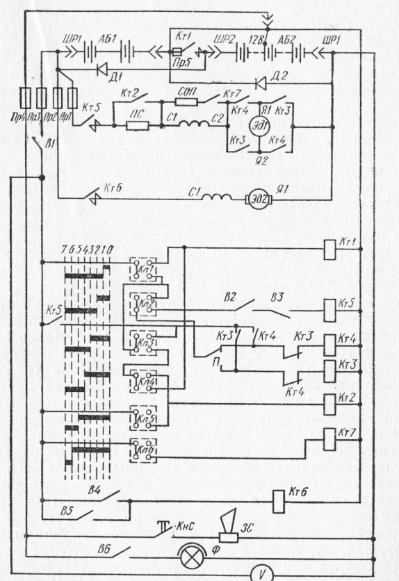 схема электропогрузчика