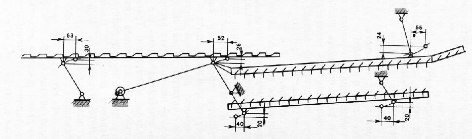 Кинематическая схема подвески